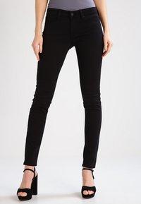 Mavi - ADRIANA - Jeans Skinny Fit - black - 0