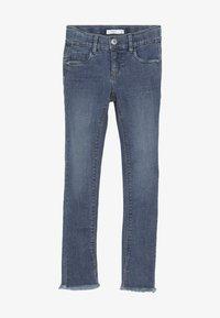 Name it - NKFPOLLY DNMTEJA ANCLE PANT - Slim fit jeans - medium blue denim - 3