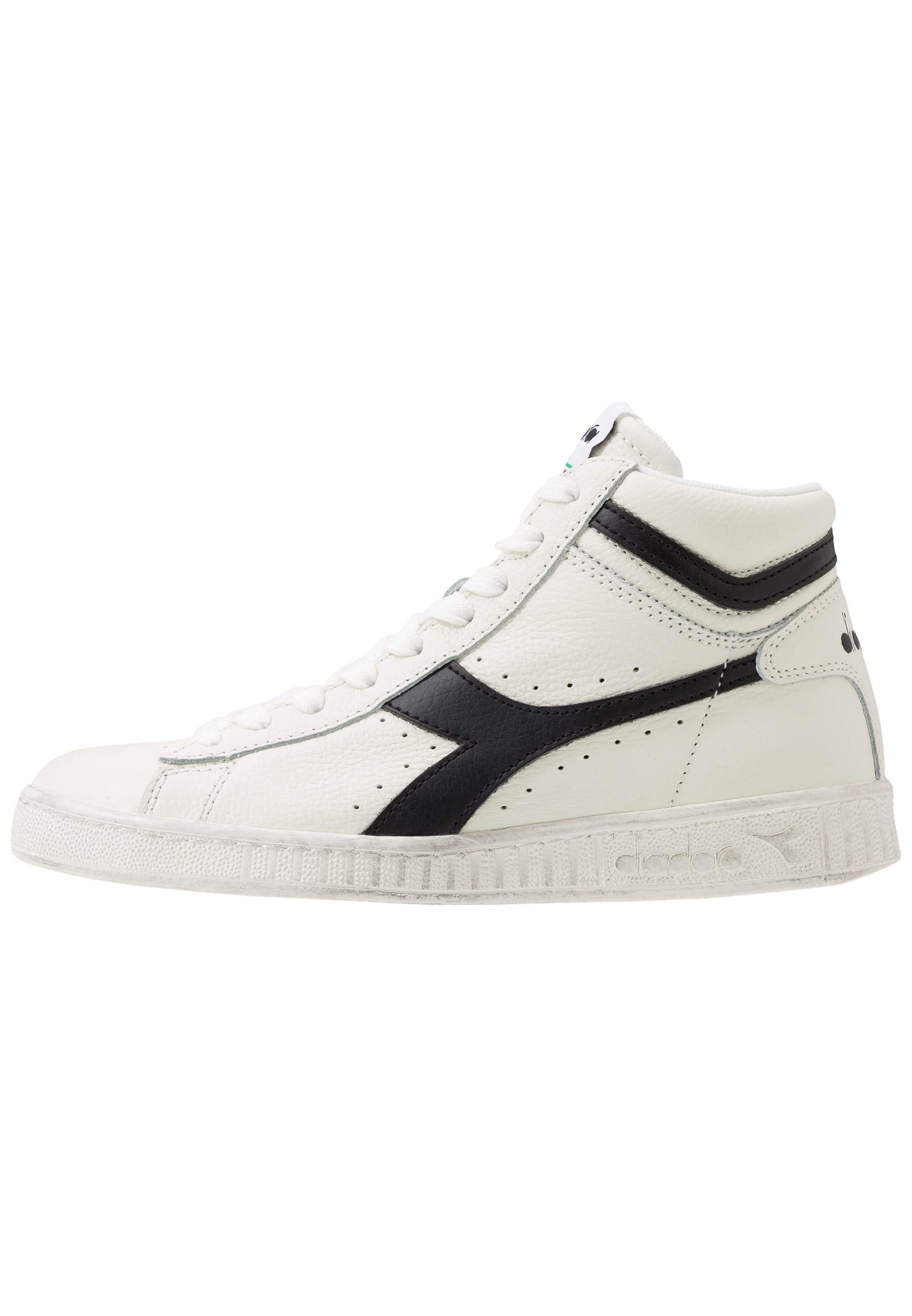 Women GAME WAXED - High-top trainers