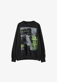 PULL&BEAR - Sweatshirt - mottled black - 6
