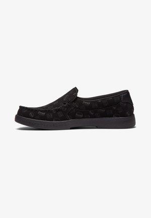 Slip-ons - black/grey