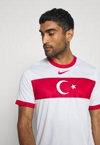 Nike Performance - TÜRKEI HOME - Landsholdstrøjer - white/sport red - 3