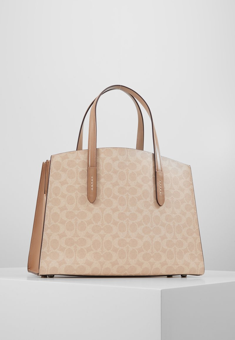 Coach - CHARLIE CARRYALL - Kabelka - sand taupe