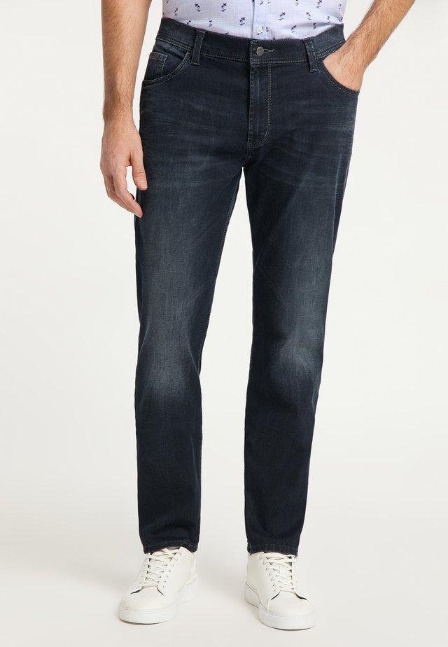 Straight leg jeans - dark used