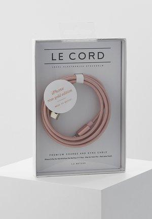 Nabíjecí kabel - rose gold-coloured
