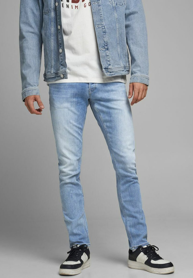 Jack & Jones - SLIM FIT GLENN ORIGINAL - Slim fit jeans - blue denim