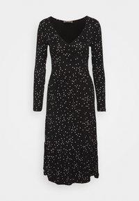 Anna Field - Jersey dress - black/white - 5