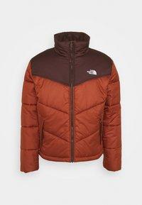 SAIKURU JACKET - Winter jacket - brandy brown/root brown