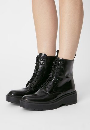 BRIA - Lace-up ankle boots - regular black