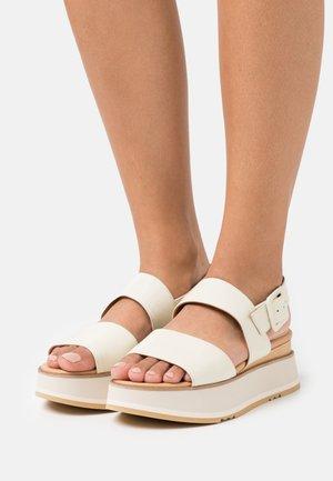 JAVARI - Sandales à plateforme - lory panna