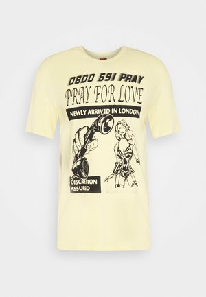 BRASS UNISEX - Print T-shirt - yellow