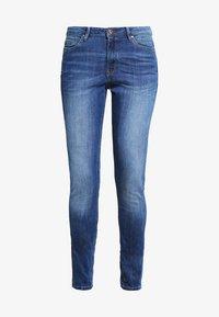 edc by Esprit - HIGH SKIN PANTS DENIM - Slim fit jeans - blue denim - 5