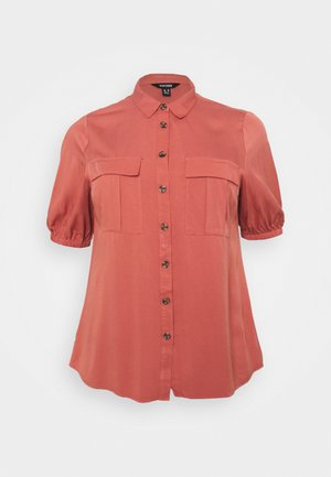BALLOON SLEEVE UTILITY  - Blouse - baked peach
