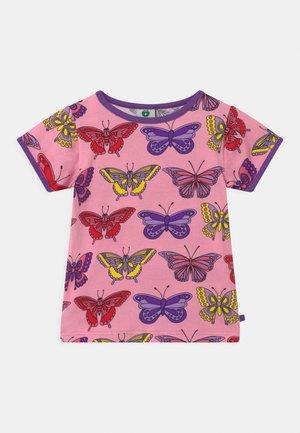 SOMMERFUGLE - Print T-shirt - sea pink
