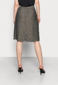 Opus - RAILA - A-line skirt - black oliv - 2