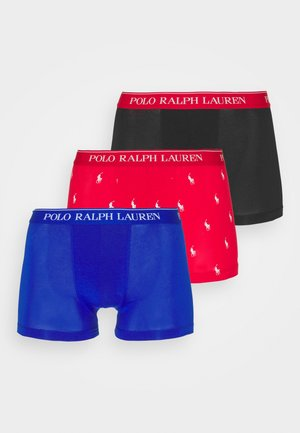 TRUNK 3 PACK - Pants - black/red/sapphire