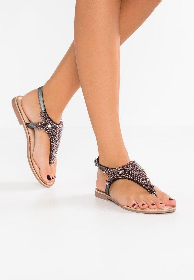 Sandalias de dedo - black