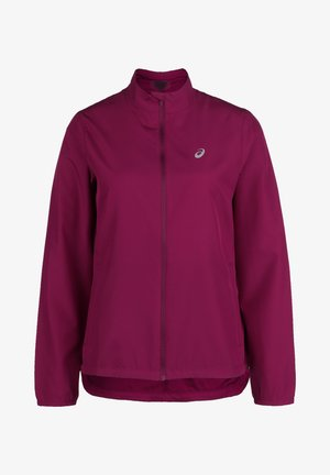 Training jacket - dried berry