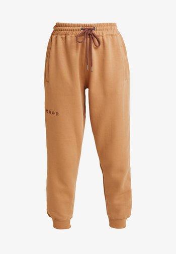 LOOPBACK JOGGERS - Pantalones deportivos - camel