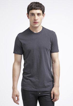 CREW NECK - T-shirt basic - carbon