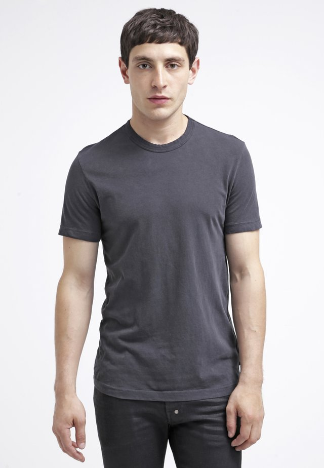 CREW NECK - T-shirt basic - carbon