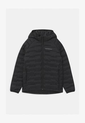 JUNIOR ARGON LIGHT HOOD UNISEX - Winter jacket - black
