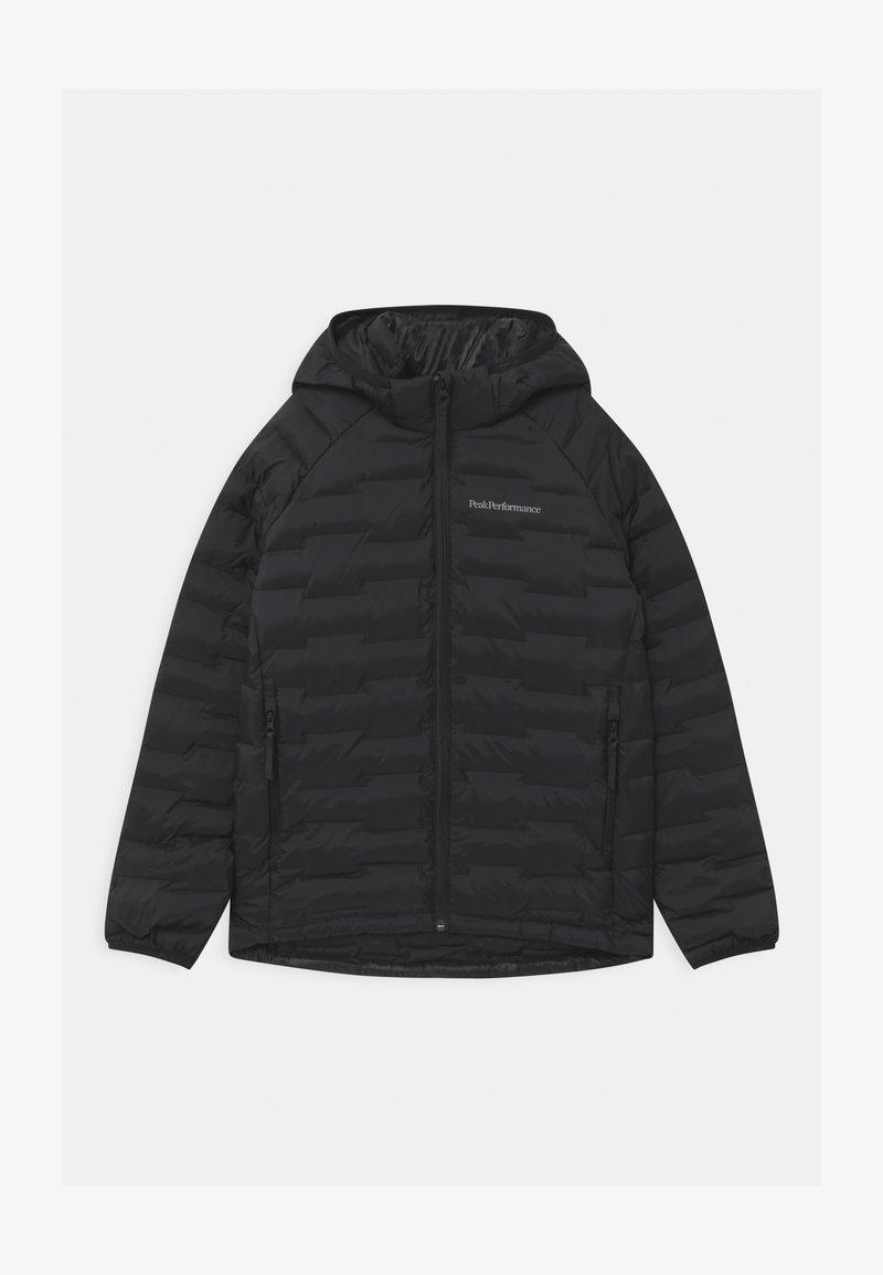 Peak Performance - JUNIOR ARGON LIGHT HOOD UNISEX - Zimní bunda - black