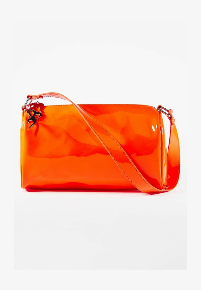 Taška spříčným popruhem - orange