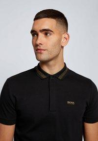 BOSS - PADDY PIXEL - Poloshirt - black - 3