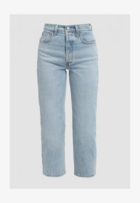 Levi's® - RIBCAGE STRAIGHT ANKLE - Jeansy Straight Leg - tango light - 6