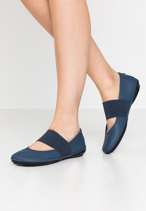 RIGHT NINA - Ankle strap ballet pumps - planet
