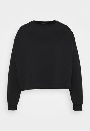 BOXY - Sweatshirt - black