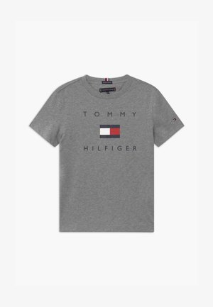 LOGO TEE - Camiseta estampada - grey