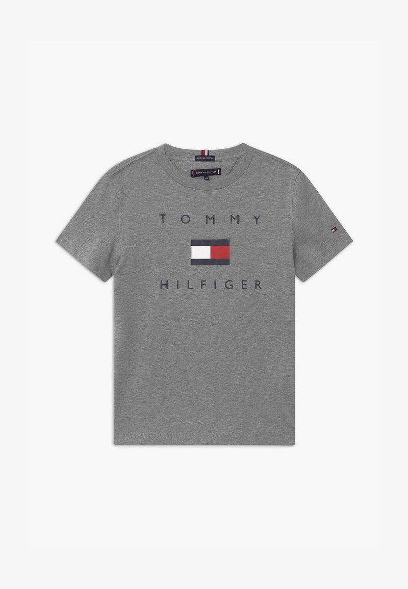 Tommy Hilfiger - LOGO TEE - Camiseta estampada - grey