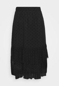 Even&Odd - A-line skirt - black - 3