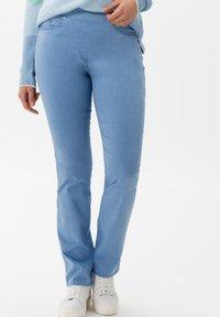 BRAX - STYLE PAMINA - Trousers - sky - 0