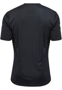 Hummel - CORE - Print T-shirt - black - 2