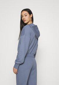 NU-IN - CROPPED HOODIE - Sweatshirt - blue - 2