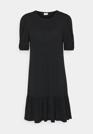 JDYURBAN GABRIELLA - Žerzejové šaty - black
