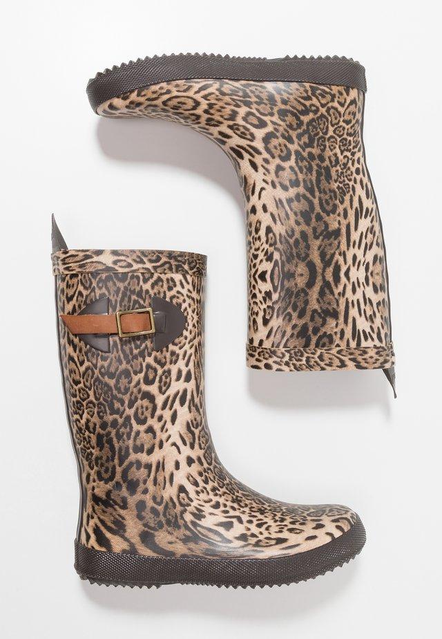 SCANDINAVIA - Gummistövlar - leopard
