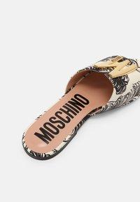MOSCHINO - Mules - fantasy color - 5