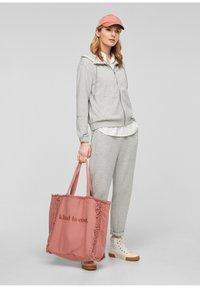 s.Oliver - Zip-up sweatshirt - gray - 1