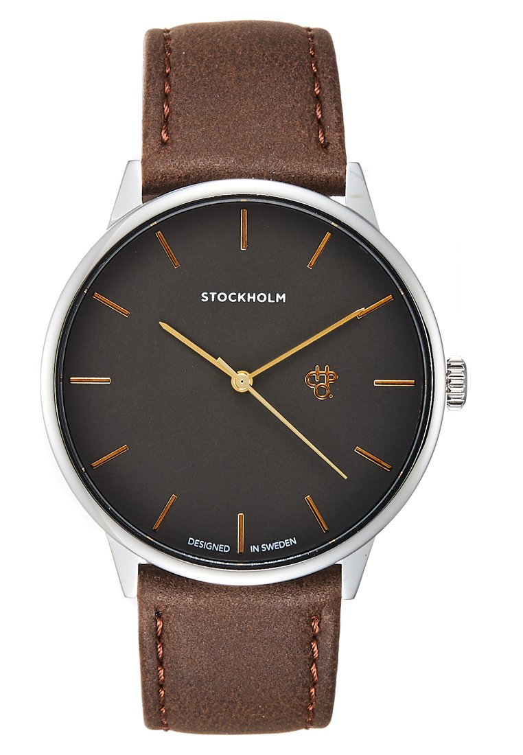 CHPO STOCKHOLM - Klokke - metal/silver-coloured/mørkegrå u1pkH3DlrbyhzLQ