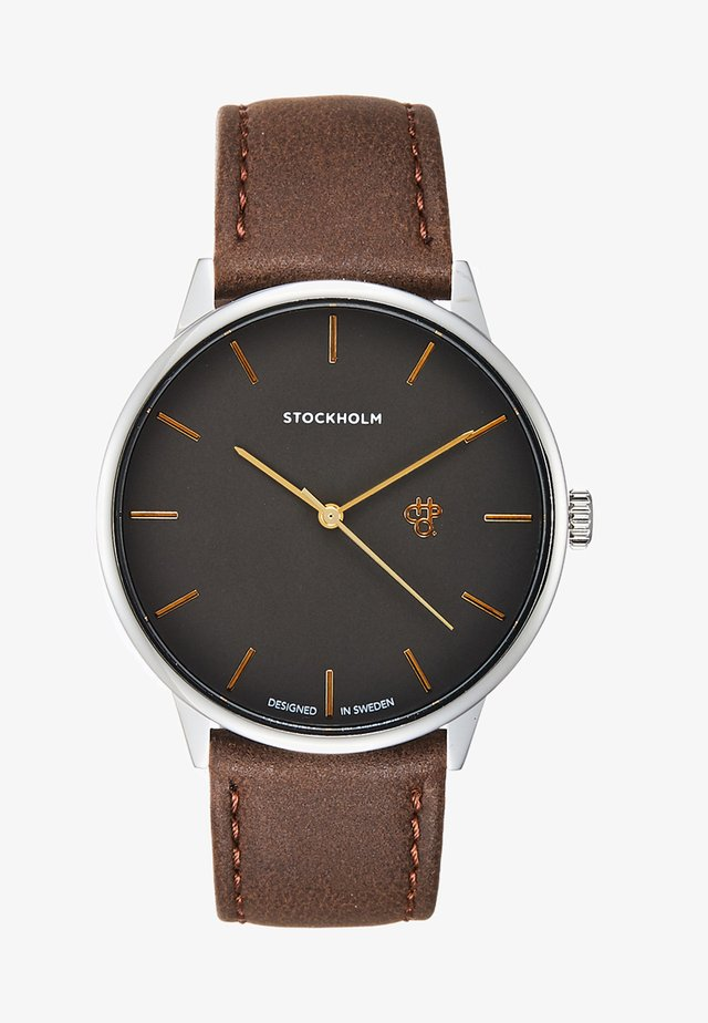 STOCKHOLM - Watch - metal/silver-coloured