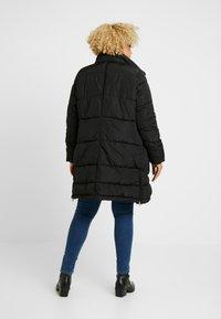 ONLY Carmakoma - CARRHODA WINTER COAT - Winter coat - black - 4
