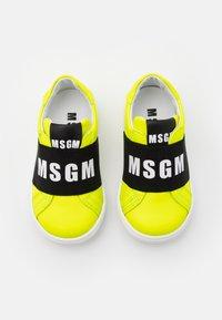 MSGM - UNISEX - Slip-ons - neon yellow - 3