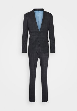 CHECKED SUIT - Puku - black