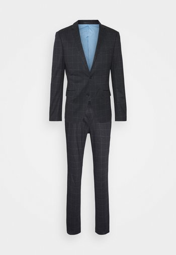CHECKED SUIT - Completo - black