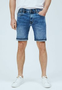 Pepe Jeans - CANE - Denim shorts - blue - 0