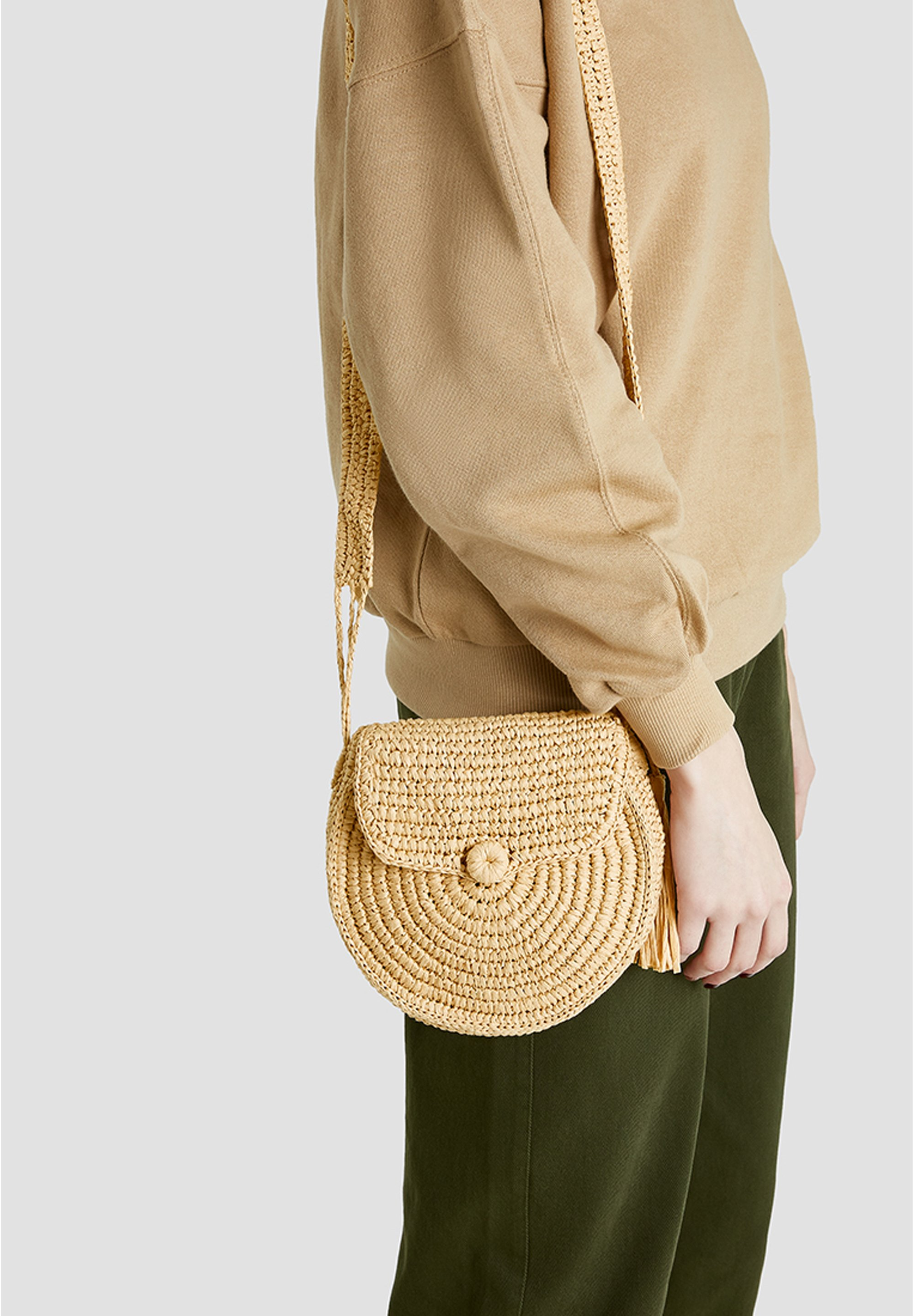 Pull&bear Torba Na Ramię - Light Brown